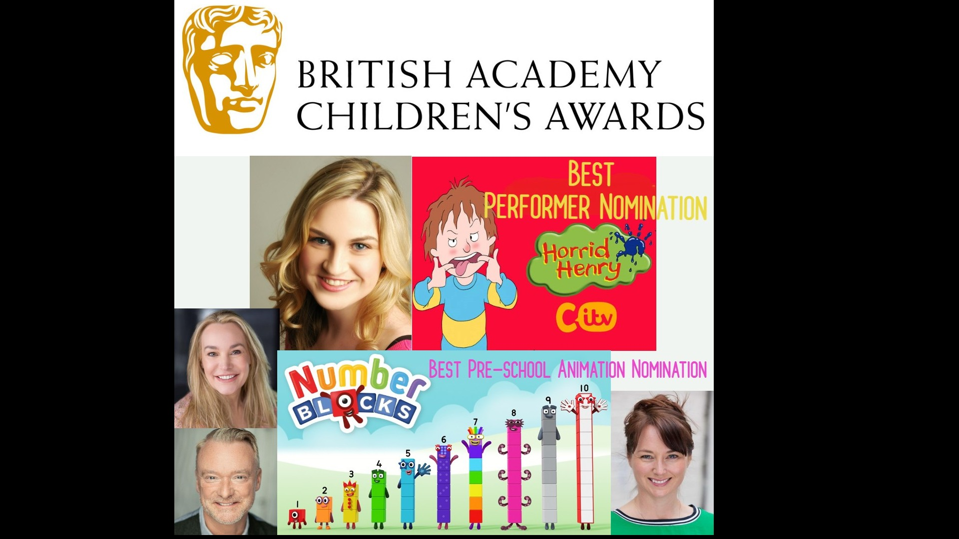 Children's BAFTA Award Nominees