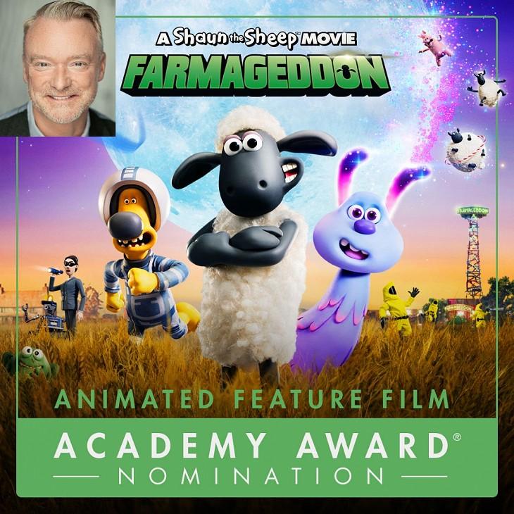 Oscar Nomination for Shaun The Sheep Movie!
