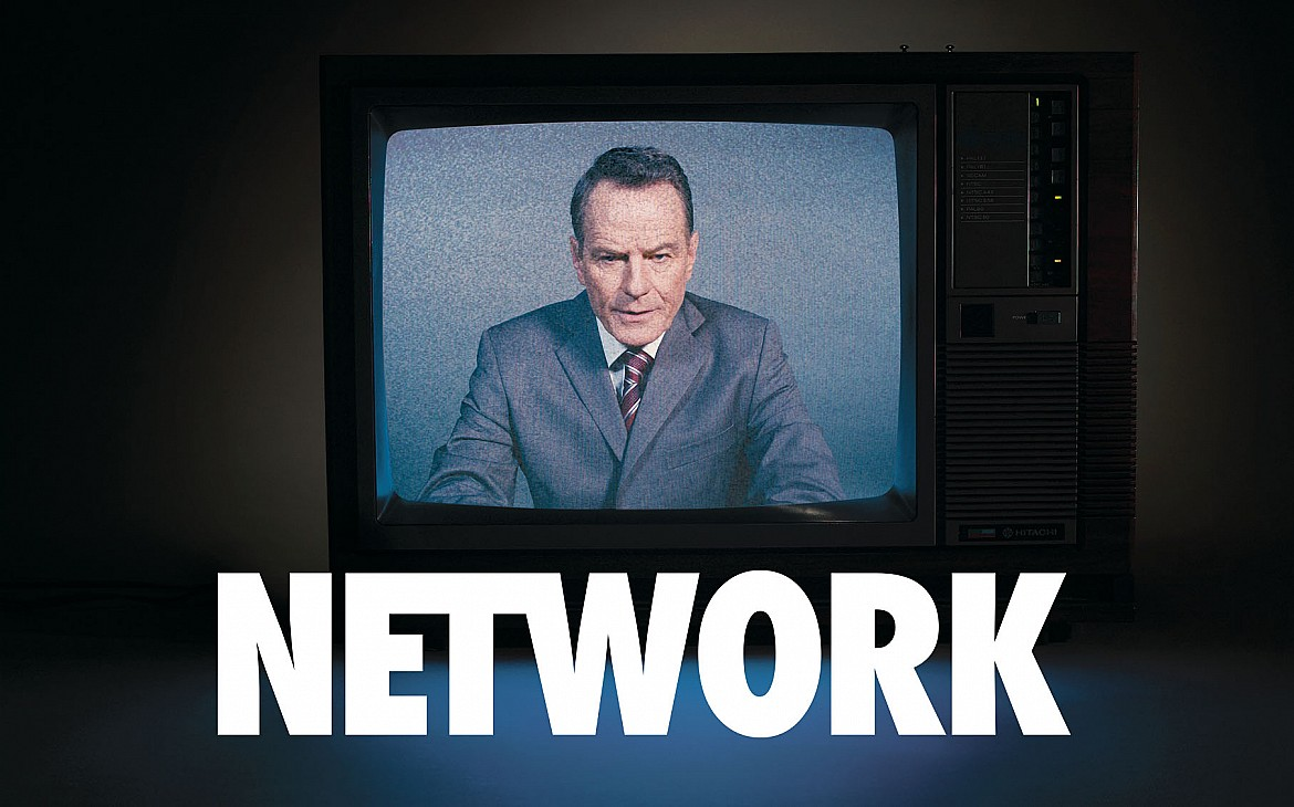 Caroline Faber in Network at the NT