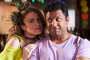 Pal Aron & Ruth Jones in Stella - Series 6