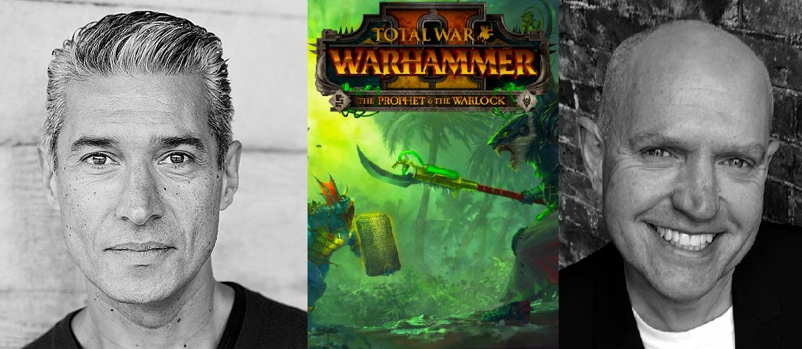 Silas Carson & Tim Whitnall in the new Warhammer Game!