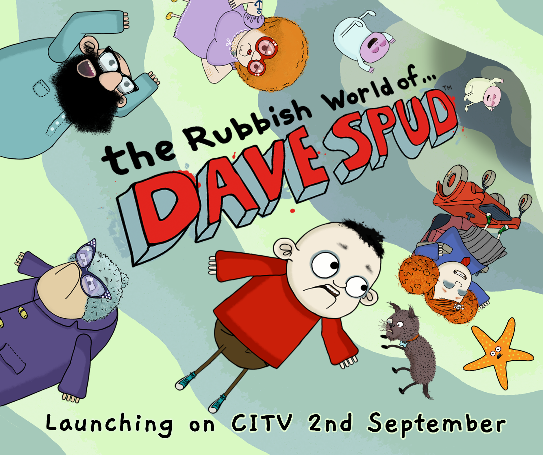 David Holt in The Rubbish World of Dave Spud