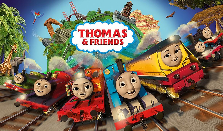 John Hasler in Thomas & Friends