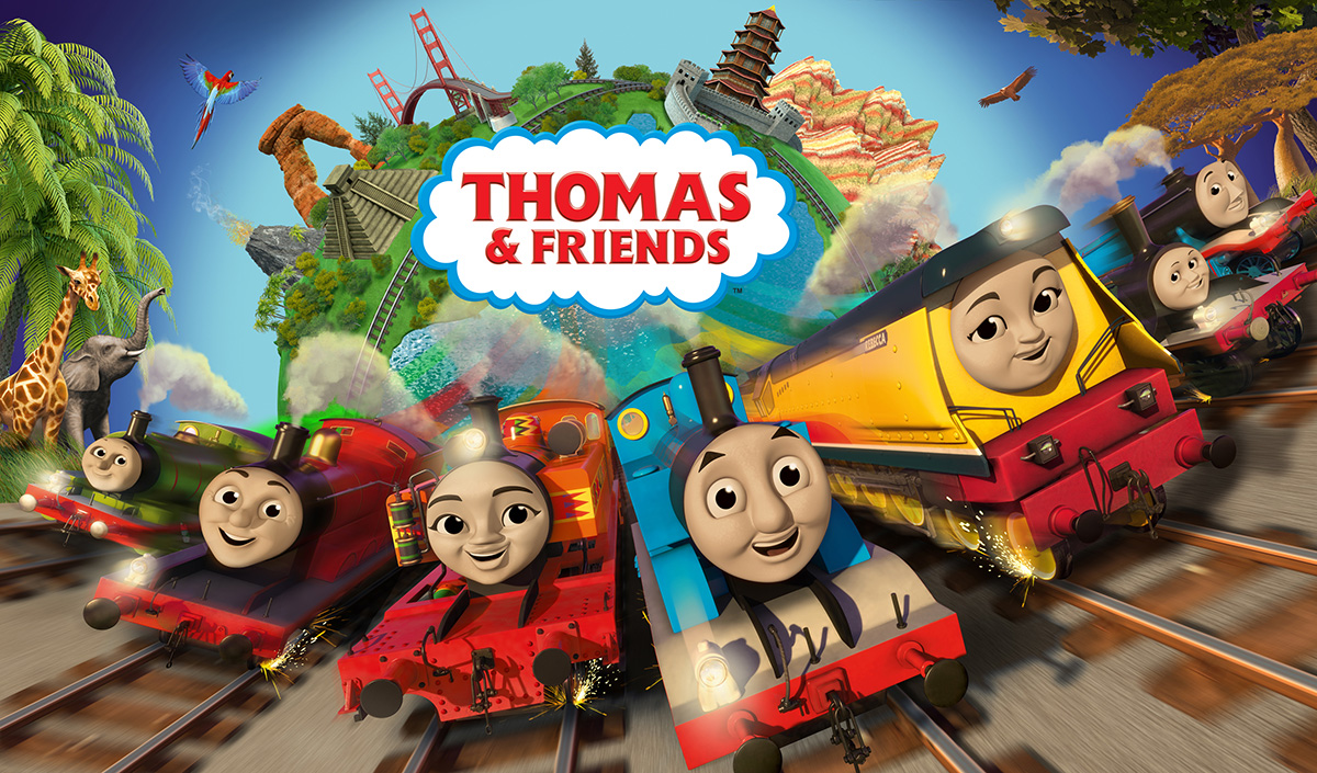 John Hasler & Tim Whitnall in Thomas & Friends